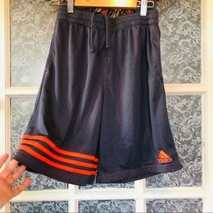 Boy's 14/16 Adidas Grey Orange Shorts
